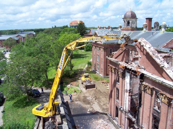Precision Dismantling Of Abatement And Demolition Of