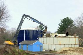 Wastewater Plant Tank Removal Project